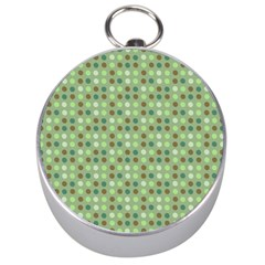 Green Brown  Eggs On Green Silver Compasses by snowwhitegirl