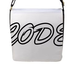 Code White Flap Messenger Bag (l)  by Code