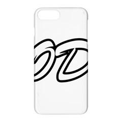 Code White Apple Iphone 8 Plus Hardshell Case by Code