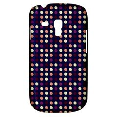Peach Purple Eggs On Navy Blue Galaxy S3 Mini by snowwhitegirl