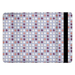 Pink Purple White Eggs On Lilac Samsung Galaxy Tab Pro 12 2  Flip Case by snowwhitegirl