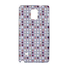 Pink Purple White Eggs On Lilac Samsung Galaxy Note 4 Hardshell Case by snowwhitegirl