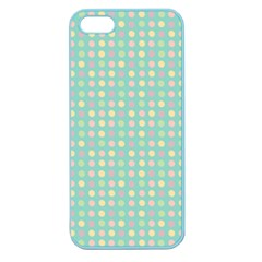 Pink Peach Green Eggs On Seafoam Apple Seamless Iphone 5 Case (color)
