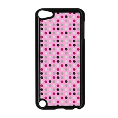 Grey Magenta Eggs On Pink Apple Ipod Touch 5 Case (black) by snowwhitegirl