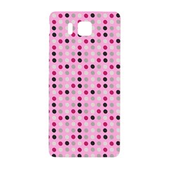 Grey Magenta Eggs On Pink Samsung Galaxy Alpha Hardshell Back Case by snowwhitegirl