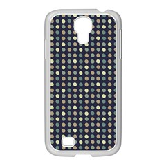 Beige Blue Cream Eggs On Grey Blue Samsung Galaxy S4 I9500/ I9505 Case (white) by snowwhitegirl