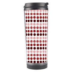 Reddish Dots Travel Tumbler by snowwhitegirl