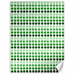 Greenish Dots Canvas 36  X 48   by snowwhitegirl