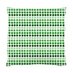 Greenish Dots Standard Cushion Case (two Sides)