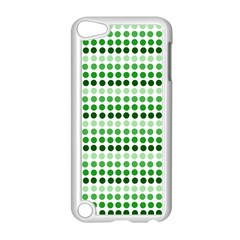 Greenish Dots Apple Ipod Touch 5 Case (white) by snowwhitegirl