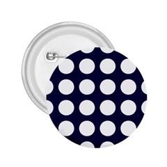 Big Dot Blue 2 25  Buttons by snowwhitegirl