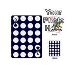 Big Dot Blue Playing Cards 54 (Mini)  Front - Spade3