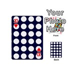 Big Dot Blue Playing Cards 54 (Mini)  Front - Heart10