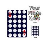 Big Dot Blue Playing Cards 54 (Mini)  Front - HeartA