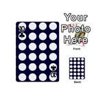 Big Dot Blue Playing Cards 54 (Mini)  Front - Club10