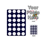 Big Dot Blue Playing Cards 54 (Mini)  Back