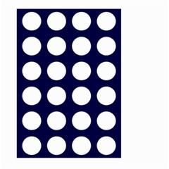 Big Dot Blue Large Garden Flag (two Sides) by snowwhitegirl