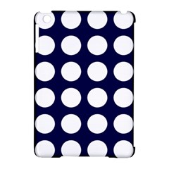 Big Dot Blue Apple Ipad Mini Hardshell Case (compatible With Smart Cover) by snowwhitegirl