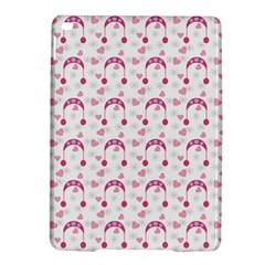 Winter Pink Hat White Heart Snow Ipad Air 2 Hardshell Cases by snowwhitegirl