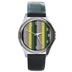 Sid Round Metal Watch
