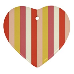 Candy Corn Ornament (heart) by snowwhitegirl
