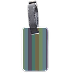 Rainy Woods Luggage Tags (two Sides)