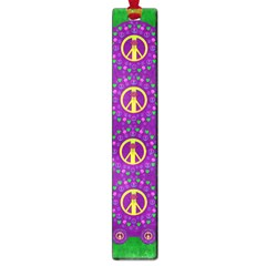 Peace Be With Us In Love And Understanding Large Book Marks by pepitasart