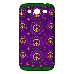 Peace Be With Us In Love And Understanding Samsung Galaxy Mega 5 8 I9152 Hardshell Case  by pepitasart