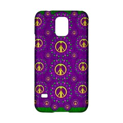 Peace Be With Us In Love And Understanding Samsung Galaxy S5 Hardshell Case  by pepitasart