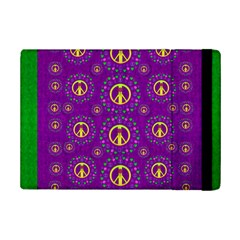 Peace Be With Us In Love And Understanding Ipad Mini 2 Flip Cases by pepitasart