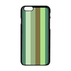 Pistachio Ice Cream Apple Iphone 6/6s Black Enamel Case by snowwhitegirl
