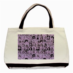 Lilac Yearbok Basic Tote Bag by snowwhitegirl