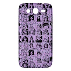Lilac Yearbok Samsung Galaxy Mega 5 8 I9152 Hardshell Case  by snowwhitegirl