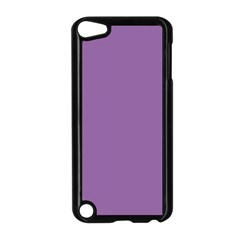 Another Purple Apple Ipod Touch 5 Case (black) by snowwhitegirl