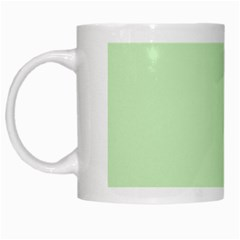 Baby Green White Mugs
