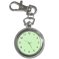 Baby Green Key Chain Watches by snowwhitegirl