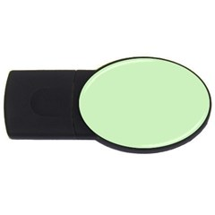 Baby Green Usb Flash Drive Oval (4 Gb) by snowwhitegirl