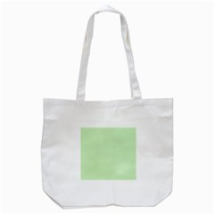 Baby Green Tote Bag (white) by snowwhitegirl