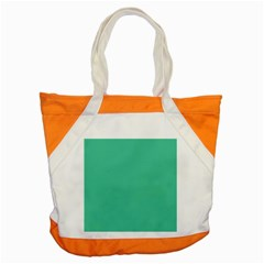 Seafoamy Green Accent Tote Bag by snowwhitegirl