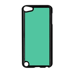 Seafoamy Green Apple Ipod Touch 5 Case (black) by snowwhitegirl