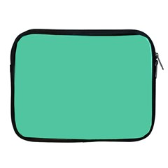 Seafoamy Green Apple Ipad 2/3/4 Zipper Cases by snowwhitegirl