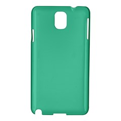 Seafoamy Green Samsung Galaxy Note 3 N9005 Hardshell Case by snowwhitegirl