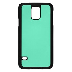 Seafoamy Green Samsung Galaxy S5 Case (black) by snowwhitegirl
