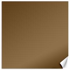 Brownish Canvas 16  X 16   by snowwhitegirl