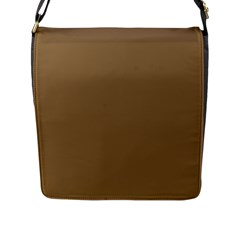 Brownish Flap Messenger Bag (l)  by snowwhitegirl