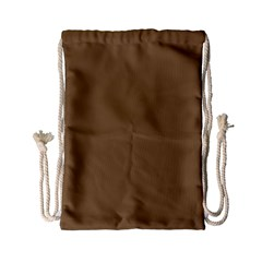 Brownish Drawstring Bag (small) by snowwhitegirl