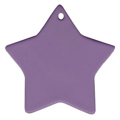 Grape Light Star Ornament (two Sides) by snowwhitegirl
