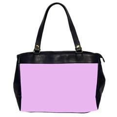 Baby Purple Office Handbags (2 Sides)  by snowwhitegirl