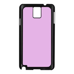 Pink Flowers Samsung Galaxy Note 3 N9005 Case (black) by snowwhitegirl