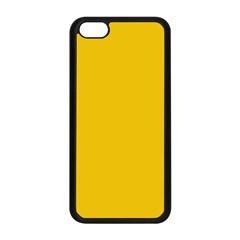 Cheesy Apple Iphone 5c Seamless Case (black) by snowwhitegirl
